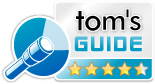 Tom's Guide Best Of Media Editors Review award